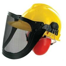 Chainsaw Helmet with Ear Defenders & Safety Visor