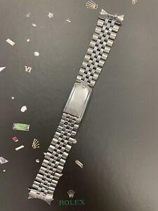Rolex Datejust 20mm Men's Jubilee Bracelet  Crown Band 6251H 55 Ends Ref 1601