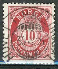 Norwegen 1909-19, NK 100 Sohn Superb Hovet ich Hallingdal 30-VIII - 15 (BU)