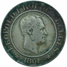 More details for coin / belgium / 20 centimes 1861 beautiful vf   #wt24505