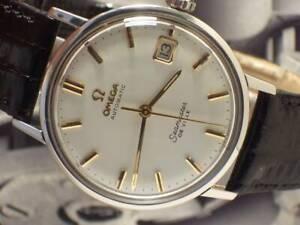 ◄ Vintage Omega Seamaster De Ville Automatik Datum Herrenuhr - Top Zustand ►