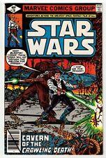 STAR WARS #28 (VF/NM) Han Solo, Chewbacca & Millennium Falcon Cover! 1979 Marvel