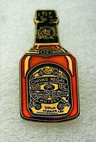 Vintage 1980s Chivas Regal Premium Whiskey Bottle Advertising Pin New NOS