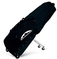Sun Mountain Golf Club Glider Pro Travel Bag Black with Wheels