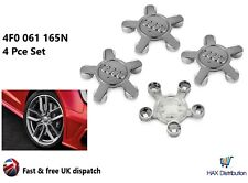 REPLACEMENT 135mm Audi Star 5 Pin Alloy Wheel Hub Centre Caps A3 A4 A5 A6 A8