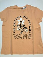 Vans New Bloom Doom Peach Nectar Youth Girl's Medium (10-12)