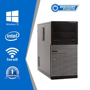 Dell Optiplex 3010 i5 3.2GHz 8GB RAM 250GB HDD WIN 10 PRO Wifi Ready!