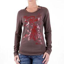 Magliette da donna marrone taglia XS