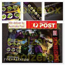 AusSeller RARE*NEW* Transformers Generation Combiner Wars G1 DEVASTATOR Gift Set