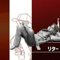 1/35 Resin Figure Kits Tokyo Girl Series Resin Soldier (80mm) self-assemble C7F5