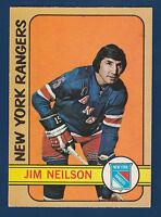 JIM NEILSON 72-73 O-PEE-CHEE 1972-73  NO 60 EXMINT+