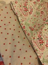 cath kidston for ikea rare stone colour paisley double duvet set