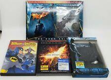 Batman The Dark Knight Rises DVD Lot Dracula Collector's Edition Book & Coin