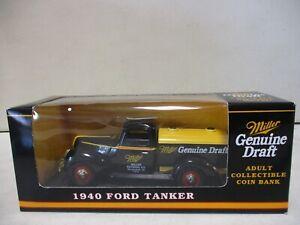 Spec Cast Miller Genuine Draft 1940 Ford Tanker 1/25