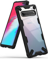 For Samsung Galaxy S10 5G | Ringke [FUSION-X] Clear Shockproof Slim Cover Case