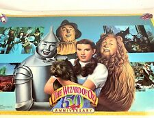 Wizard of Oz Laminated Poster 50th Anniversary 1989 Original 11x17""