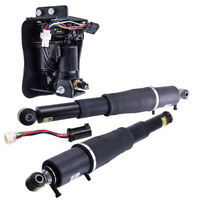 Rear Suspension Air Shocks + Compressor for Cadillac Escalade  Suburban 1500 Z55