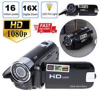 "Digital Video Camera 2.7"" Full HD 1080P 32GB 16x Zoom Camcorder DV Cams SD/SDHC"