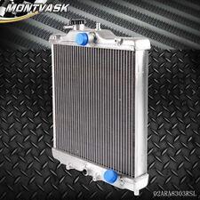 3 Row 52mm Aluminum Radiator For HONDA CIVIC 92 - 00 EK EG D15 D16