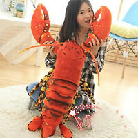 Lobster Plush Toy Doll Soft Pillow gift 110CM Big Giant Large Stuffed Animals