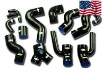 Audi S4 B5 2.7L V6 Bi-Turbo Silicone Radiator Turbo Hose Kit DOHC 97 98 99 00 01