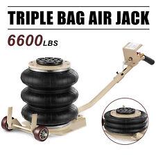 6600lbs Triple Bag Air Jack 3 Ton Lift Jack Pneumatic Jack Air Bag Jack USA