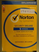 Norton Security Deluxe 5 devices Antivirus Included not 3 devices