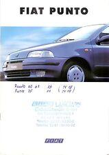 Prospekt / Brochure Fiat Punto 01/1994