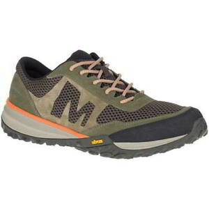 Merrell Havoc Vent Mens Breathable Green Walking Hiking Shoes Trainers Size 8-13
