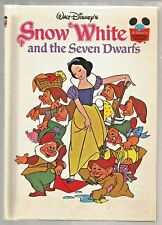 Walt Disney Hardcover 1973 Snow White Seven and the Dwarfs Book