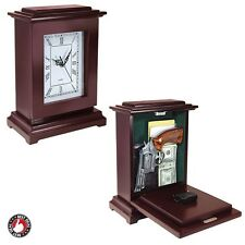 Hide A Gun Concealment Clock Secret Compartment Box Furniture Valuables Storage
