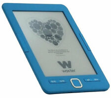 "E-book Woxter scriba 195 6"" 4GB E-ink azul"