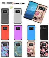 For Samsung Galaxy S10 Plus E 5G Hybrid Rugged Shockproof Armor Slim Case Cover