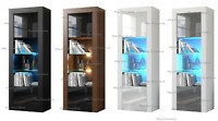Cabinet Sideboard Unit Cupboard Display  matt body - High Gloss Doors LED