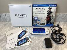 Sony Playstation PS Vita Limited Edition White 1000 OLED Henkaku ENSO CFW 256GB