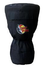 Freedom Drums Djembe Bag, Black 20x12 Back Pack Style Djembe Drum Case