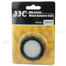 JJC White Balance Cap For 52mm Sony Nikon Canon Fujifilm Olympus Camera lens