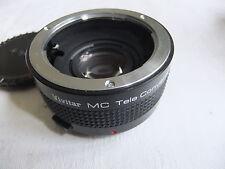 Camera lens TELECONVERTER 2-21 for OLYMPUS SLR VIVITAR MC  .. X11