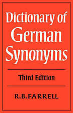 Dictionary of German Synonyms-ExLibrary