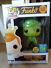 Funko POP Freddy Toxic Rick GITD LE 3000 SDCC 2019 Fundays Box Of Fun