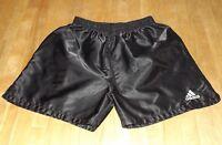 vintage men's ADIDAS nylon short shorts soccer running shiny size SMALL
