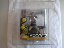 mcfarlane nfl football figure AARON RODGERS g b packers low 7/1000 throwback