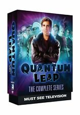 English Quantum Leap The Complete Series 18 Discs Ntsc Color Box set Full Screen