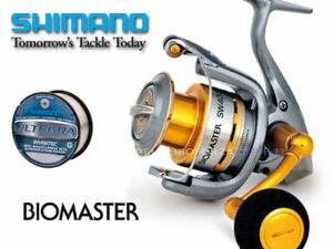 Fishing Reel SHIMANO Biomaster 8000 Sw Pg Monofilament Free Gift