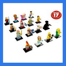 LEGO 71018 OMINI MINIFIGURES ORIGINALI - SERIE 17 - SCEGLI IL PERSONAGGIO