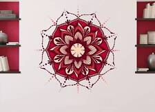 Mandala Wall Decals Full Color Boho Sticker Lotus Flower Bohemian Decor En17