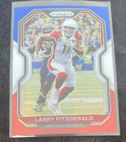 2020 Panini Prizm RED WHITE & BLUE PRIZM #263 Larry Fitzgerald  - Cardinals