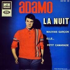 "7"" SALVATORE ADAMO La nuit-Mauvais Garçon-Elle-Petit camarade EP F 1965 like NEW"