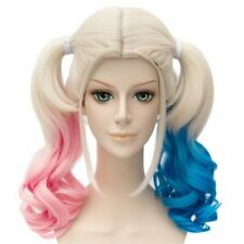 Ladies Suicide Squad Harley Quinn Wig Hair Cosplay Good Quality Free Fast Post