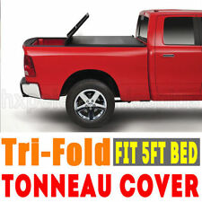 Short Tri-fold Tonneau Tonno Cover For 2015-2017 Colorado Canyon 5ft Bed F5 Hot